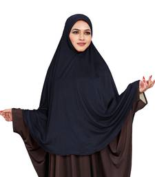 JSDC Stitched Ready To Wear Long Plain Namazi Chaderi Khimar Hijab For Women