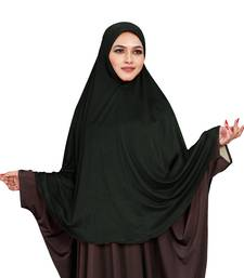 JSDC Outdoor Wear Stitched Ready To Wear Long Plain Chaderi Hijab For Women