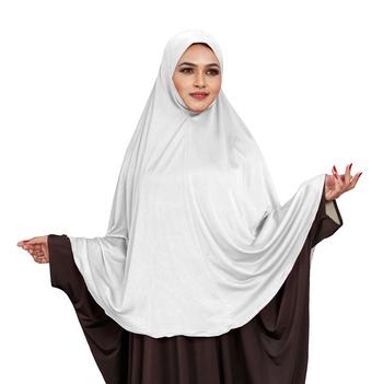 JSDC Occasional Wear Stitched Ready To Wear Long Plain Namazi Khimar Chaderi Hijab For Women