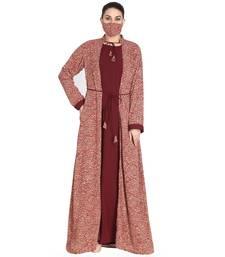 Attached Shrug Maxi Dress- Not An Abaya.