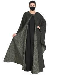 2 pcs Set-Cape Style Kaftan & Inner Abaya