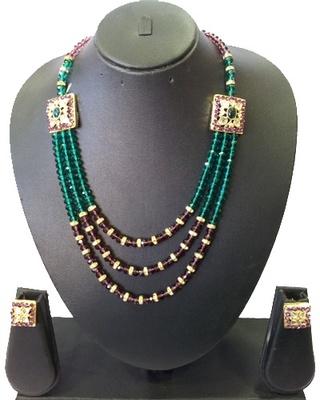 Elegant Crystal Necklace Set