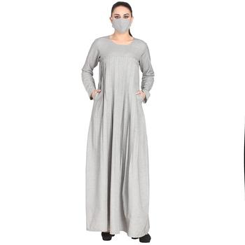Mushkiya-Cotton Made Designer Dress With Full Sleeves