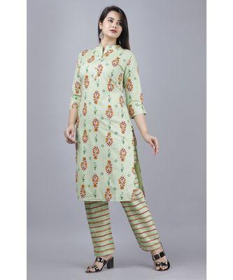 Women's cotton kurta and palazoo  set