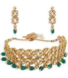 Designer Kundan Choker Necklace Set