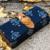 Navy Blue Colored Handblock Printed Comfy Wallet