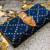 Navy Blue Colored Handblock Printed Designer Comfy Wallet