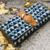 Blue Colored Handblock Printed Comfy Wallet