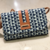 Blue Colored Handblock Printed Sling Bag With Belt