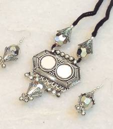 Buy Navratri dandia special antique finish necklace necklace-set online