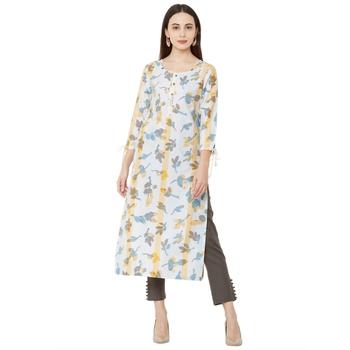 Os by Fourbuttons Women's Cotton Multi Kurta