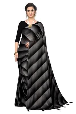 Flor print  soft & silky heavy Kota malai fabric Saree