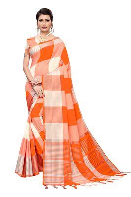 Soft Cotton Pure woven Silk Saree