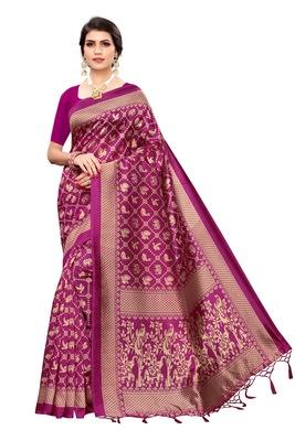 Latest Banarasi Art Silk Saree with Blouse