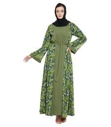 Jade plain kashibo abaya
