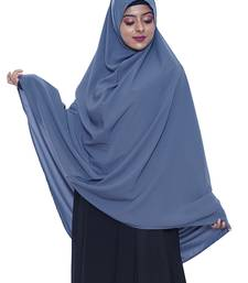 women's salafi/maftha/hijab/makhna/prayer hijab grey-XL