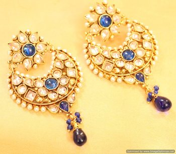 Multicolor Sapphire   danglers-drops