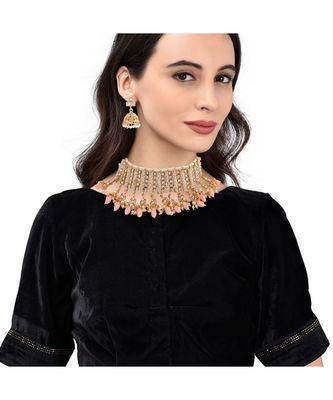 Gold Plated Designer Necklace Set
