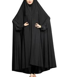 JSDC Daily Wear Plain Viscose Lycra Chaderi Prayer Abaya Burqa for Women
