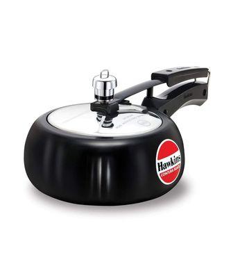 Hawkins Contura Black 2L Pressure Cooker (CB20)