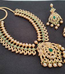 Green south-indian-jewellery