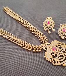 Multicolor south-indian-jewellery