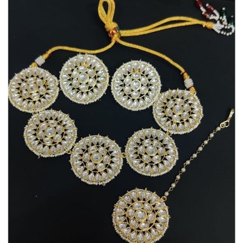White crystal necklaces