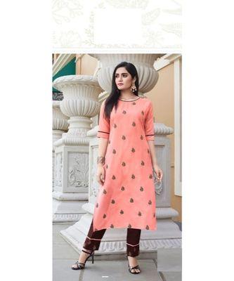 Ruby Silk Embroidered kurta sets