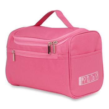 NFI essentials Multifunctional Cosmetic Bag with Hook|Makeup Organiser|Vanity Bag for Travelling Kit