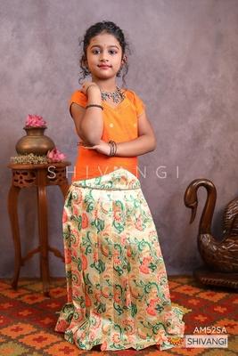 Shivangi Devasena Pattu Pavadai | Lehenga !!! – AM52SA