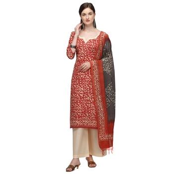 Iris-Soft Cotton Wex Batik Print Suits
