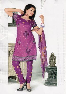 Dress Material Elegant Crepe Printed Unstitched Salwar Kameez Suit D.No 1018
