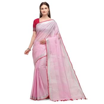 Iris Handloom Craft Cotton  saree