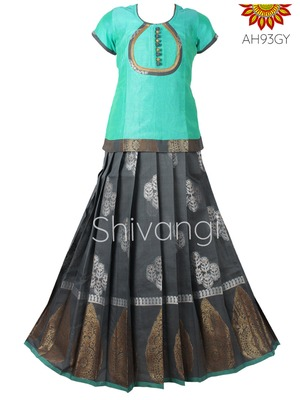 Shivangi Golden Coconut  Lehenga !!! – AH93GY