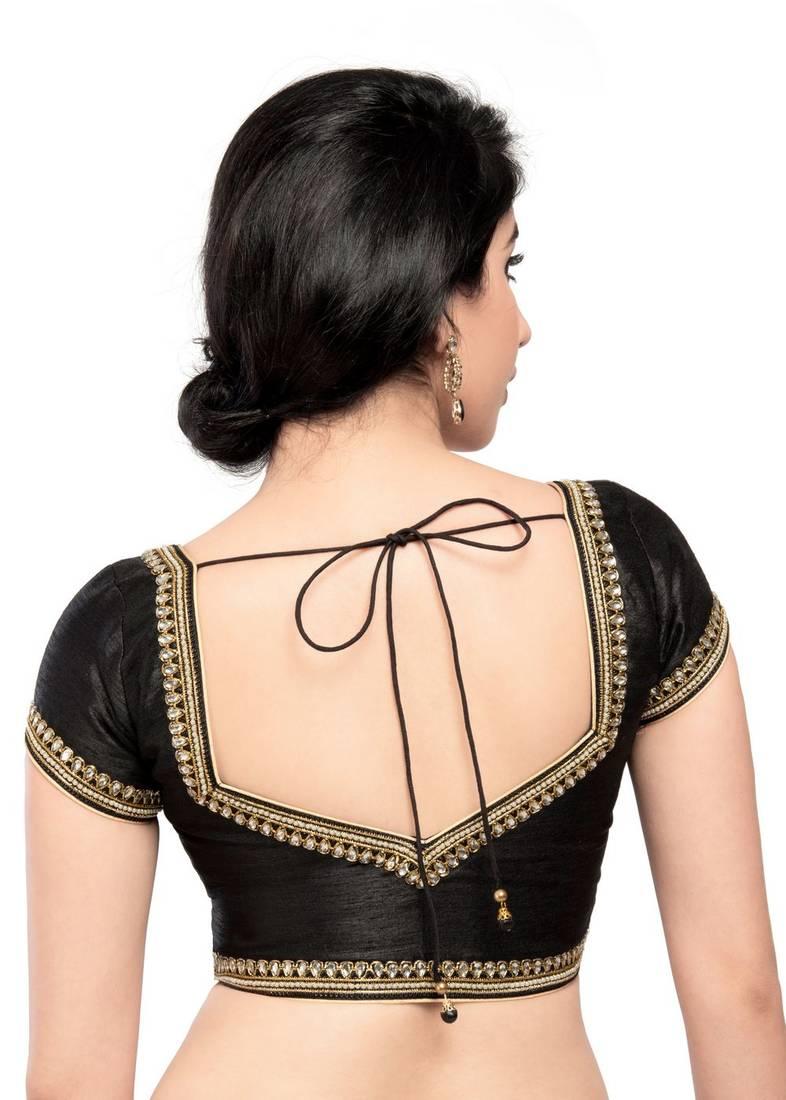 ffe924ebc62c93 Moti & Stone laced ready made padded stitched blouse - muhenera s ...