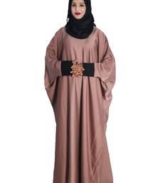 Beige embroidered nida islamic-kaftans