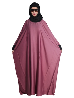 Pink embroidered nida islamic-kaftans