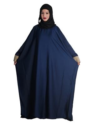 Blue embroidered nida islamic-kaftans