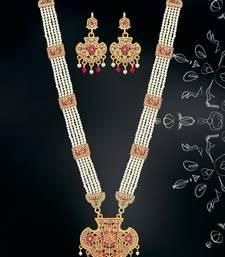 Pink mother of pearl designer-jewellery