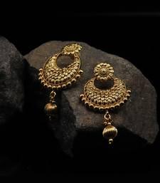 Gold Plated Chandbali Earrings