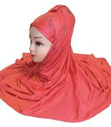 JSDC  Plain Diamond Stone Work Hosiery 4 Way Women Scarf Hijab