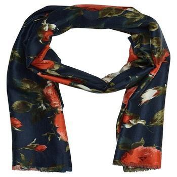 Stole for Women - Premium Cotton Printed Women's Stole - Blue