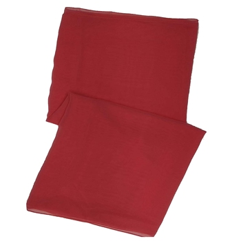 Stole For Women - Plain Chiffon Hijab - Orange