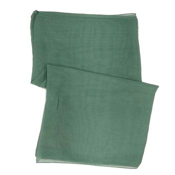 Stole For Women - Plain Chiffon Hijab- Green
