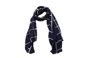 Best Seller - Designer Grid Hijab - Fabric 100 % Pure Cotton Hijab - Blue