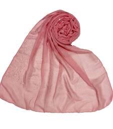 RESTOCKED  BEST SELLER BACK IN STOCK  Premium Cotton Rain Drop Hijab  Pink