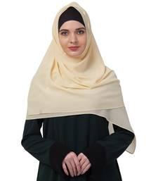 Premium Rich Chiffon   Best For All Season's  Hijabs That Don't Slip  Premium Plain Chiffon Hijab  Yellow