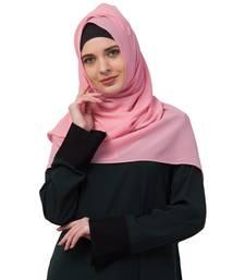 Premium Rich Chiffon   Best For All Season's  Hijabs That Don't Slip  Premium Plain Chiffon Hijab  Pink