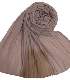 New Launch   : Chiffon   Quality On Point  Pleated Chiffon Hijab  Purple