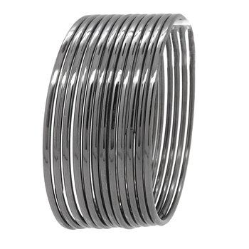 Grey bangles-and-bracelets